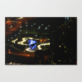 Ribbon of Ice (Chicago Architecture Society) Canvas Print