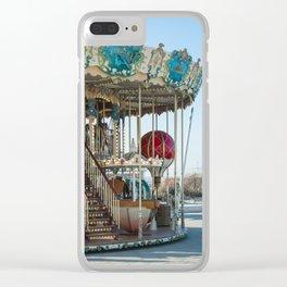 Carrousel du Touquet, Boulevard of the beach Clear iPhone Case