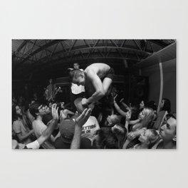 Hardcore Lives Canvas Print