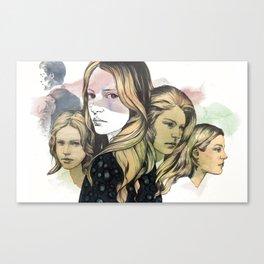 leave Canvas Print