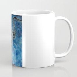 Blue Heron Coffee Mug