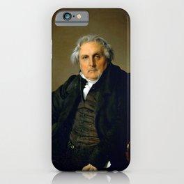 """Jean-Auguste-Dominique Ingres """"Monsieur Bertin"""" iPhone Case"""