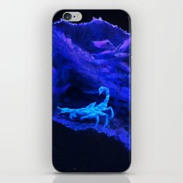 Scorpion Terrarium iPhone Skin