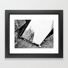 . . . elpmeT Framed Art Print