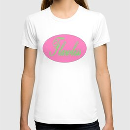 Flawless Pink & Green T-shirt