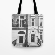 London Facade: B&W Tote Bag
