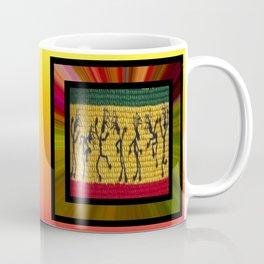 lively up reggae dancers (square) Coffee Mug