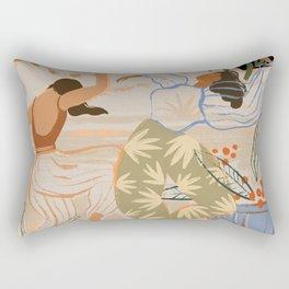 Dance under the Moonlight Rectangular Pillow