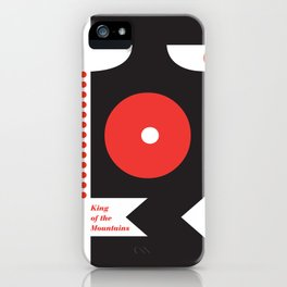 King of the Mountains, Abstract 1 iPhone Case
