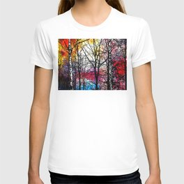 Tree Alley Colors T-shirt