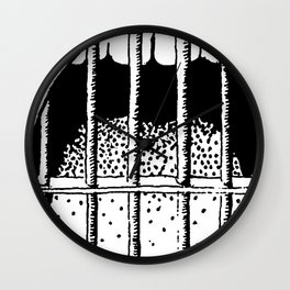 Freedom of Expression 1 of 3 Wall Clock