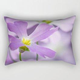 Primrose macro purple 021 Rectangular Pillow