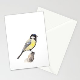 Great tit Stationery Cards