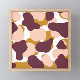 Modern Shapes 03 Framed Mini Art Print
