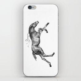 Contra viento /Running horse iPhone Skin