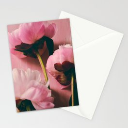 Pink Peony Love Stationery Cards