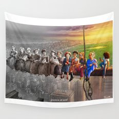 Feminism At Work Wall Tapestry