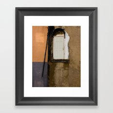 Door, Washington DC Framed Art Print