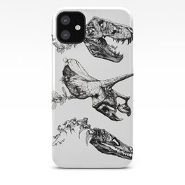 Jurassic Bloom. iPhone Case