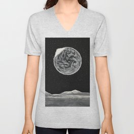 Black series II - When The Lights Went Out Unisex V-Neck