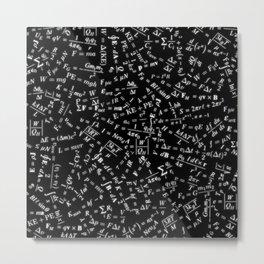 Equation Overload Metal Print