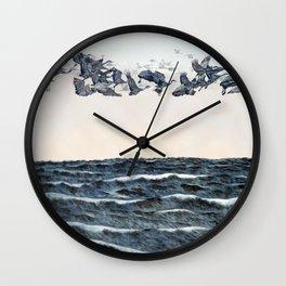 Old men should be explorers Wall Clock