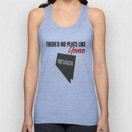 No place like home - Nevada Unisex Tank Top