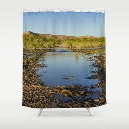 Pentecost River Crossing Shower Curtain