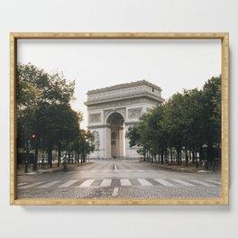 Arc de Triomphe / Paris, France Serving Tray