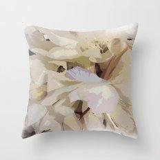 Midsummer night-blooms Throw Pillow