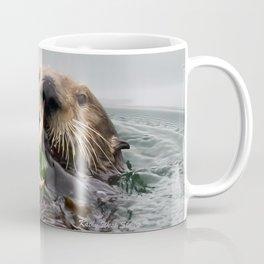Sea Otter Crab Breakfast Coffee Mug