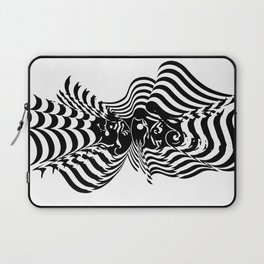 Psycho wave clear Laptop Sleeve