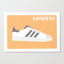 Superstar Minimalist Canvas Print