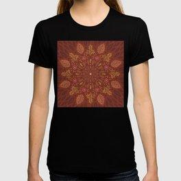 Autumn Leaf Doodle T-shirt