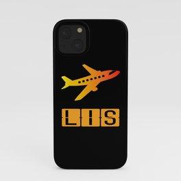 Lisbon Portela Airport LIS iPhone Case