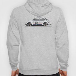 Legendary Custom Herbie 53 Bug Vintage Retro Cool German Car Wall Art and T-Shirts Hoody