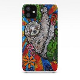 Happy Sloth iPhone Case