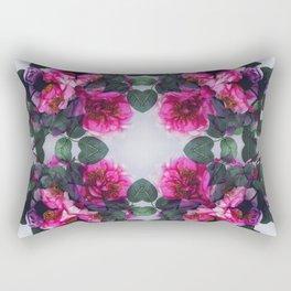 Rosy Rectangular Pillow