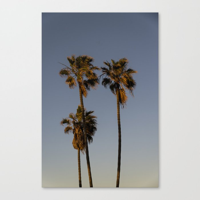 San Diego @ Dusk Canvas Print