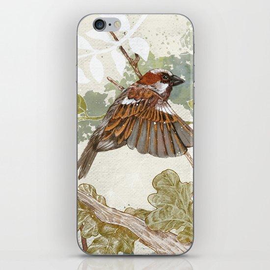 Flying away iPhone & iPod Skin