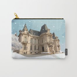 Winter at the Castle Carry-All Pouch