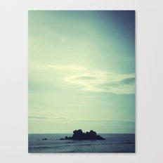 Island. Canvas Print