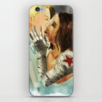 stucky iPhone & iPod Skins featuring Stucky Home at last by Pruoviare