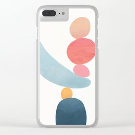 Balancing Stones 21 Clear iPhone Case
