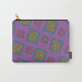 Square Circle pattern Carry-All Pouch