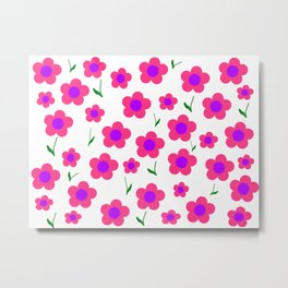 Pink And Pretty Metal Print