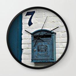 Letterbox at No. 7 Wall Clock