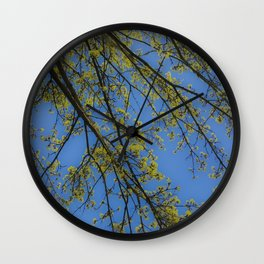 'a picture of a tree' Wall Clock