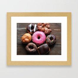 Mmmm Donuts Framed Art Print