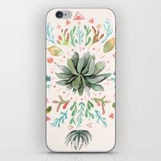 Tropical Succulents iPhone & iPod Skin